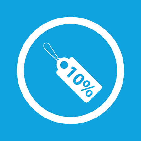 clip art cost: Discount sign icon