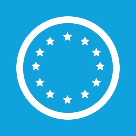 european integration: European Union sign icon