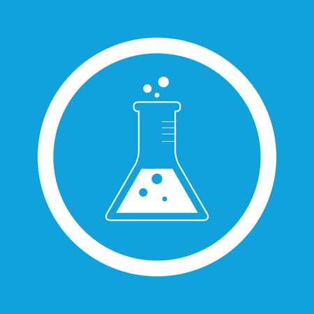 conical: Conical flask sign icon