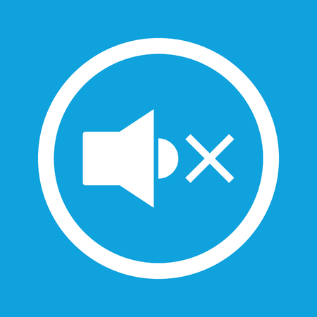 muted: Muted sound sign icon
