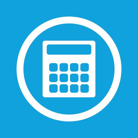 Calculator sign icon Vector