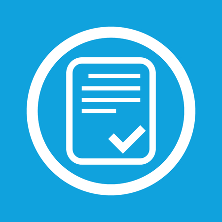 approved: Approved document sign icon Illustration