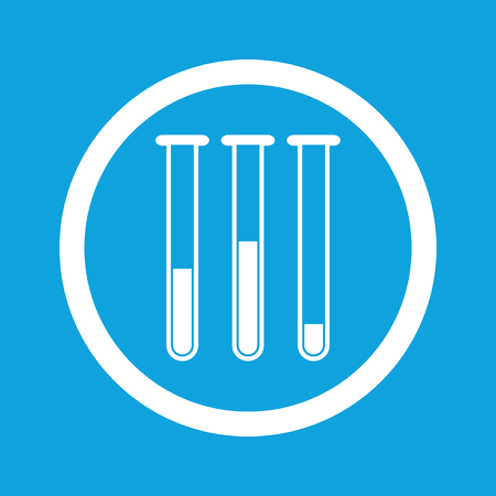 Test-tubes sign icon Vector