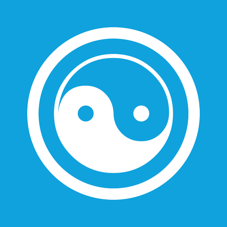 dao: Ying yang sign icon