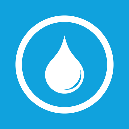 waterdrop: Water drop sign icon