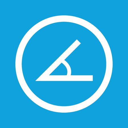 Angle sign icon Vector