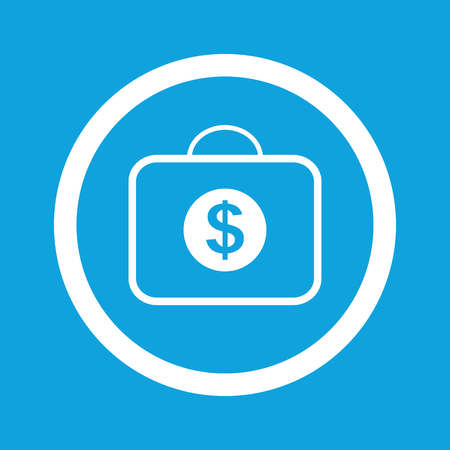 dollar bag: Dollar bag sign icon