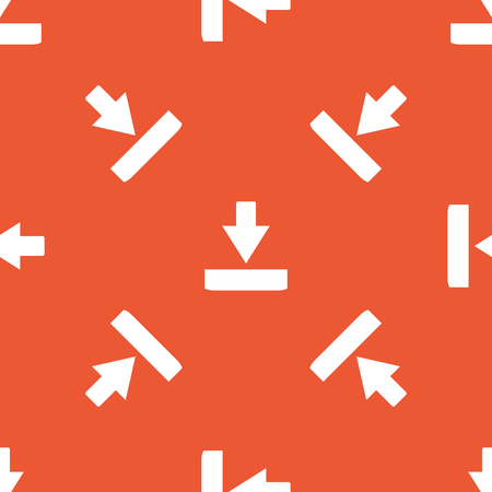 repeated: Image of download symbol, repeated on orange background