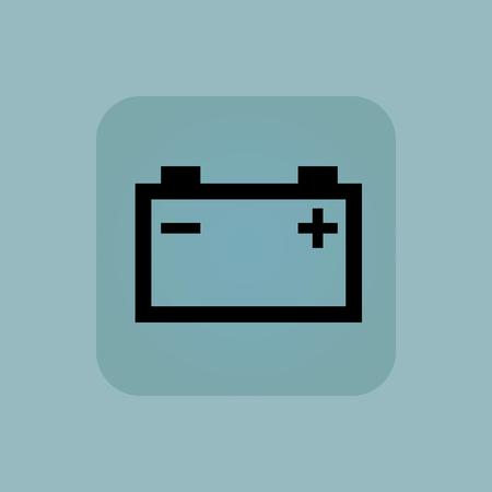 accumulator: Image of accumulator in square, on pale blue background