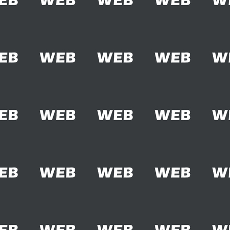repeated: White text WEB repeated on black background Illustration