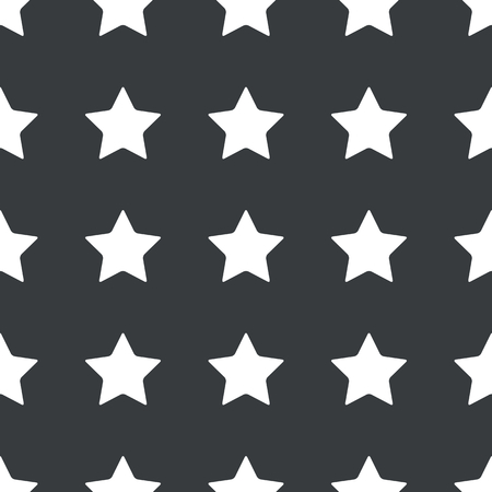 ideogram: White image of star repeated on black background
