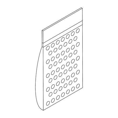 흰색 배경에 고립 된 아이소 메트릭 3d 스타일에서 페인트 볼 공 팩 아이콘
