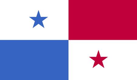 bandera panama: Imagen bandera de Panam� para cualquier dise�o de forma sencilla