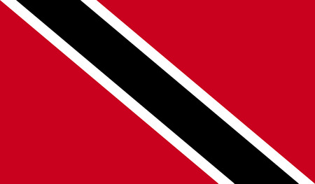 trinidad: Trinidad and Tobago flag image for any design in simple style