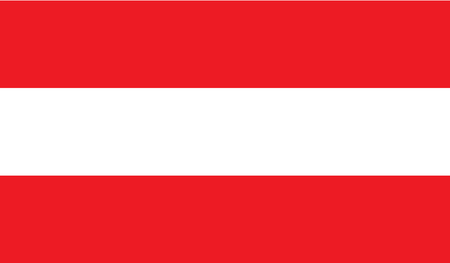 austria flag: Austria flag image for any design in simple style Illustration