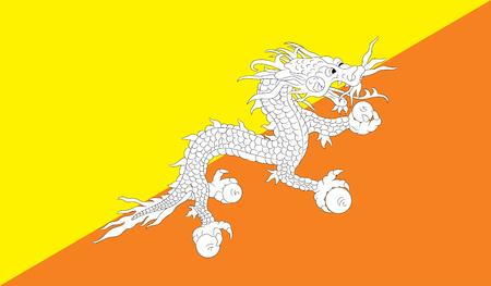 butane: Butane flag image for any design in simple style