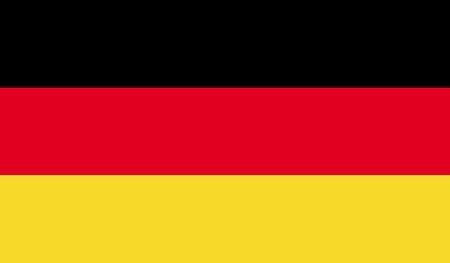 deutschland: Deutschland flag image for any design in simple style
