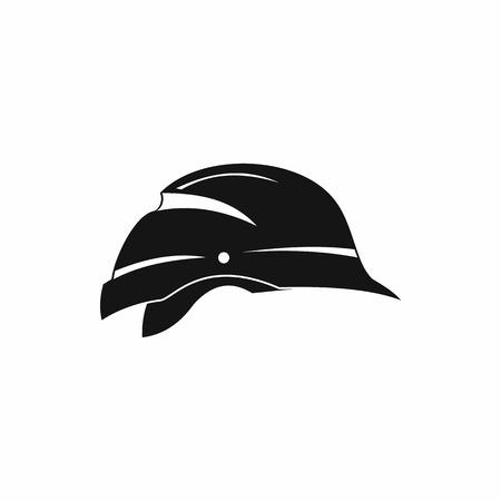 hardhat icon: Hardhat icon in simple style isolated on white background