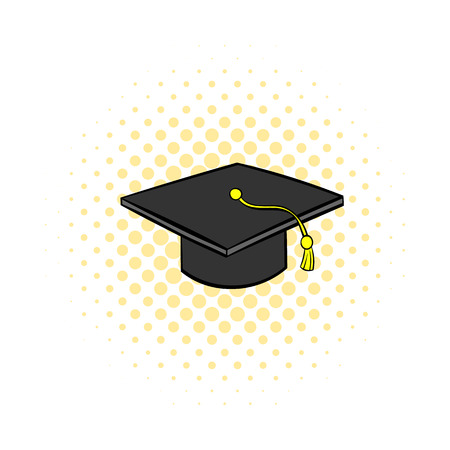 graduation cap pattern seamless blue royalty free cliparts vectors
