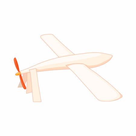 glider: Glider icon in cartoon style on a white background