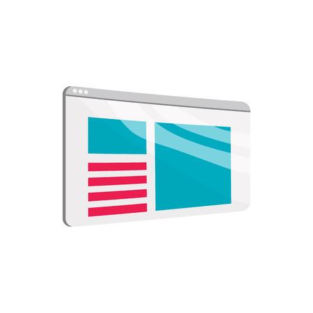 Journal icoon in cartoon-stijl op een witte achtergrond. Bladeren symbool