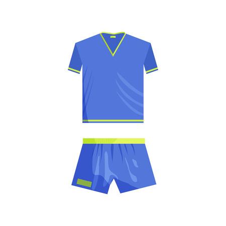 sports clothing: Sports uniforms icon in cartoon style isolated on white background. Clothing symbol