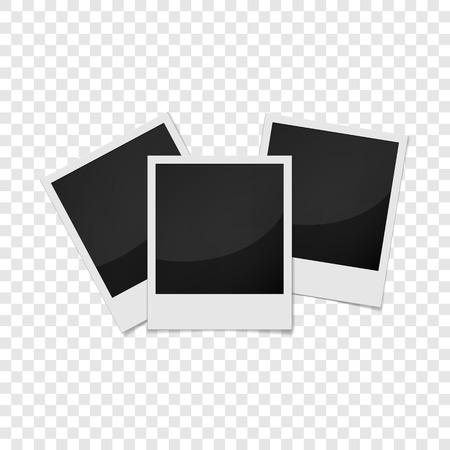 feature film: Realistic photo frame icon. Universal photo frames icon to use for web and mobile UI vector illustration