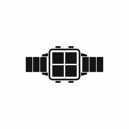 watch new year: Modern smart watch icon in simple style isolated on white background