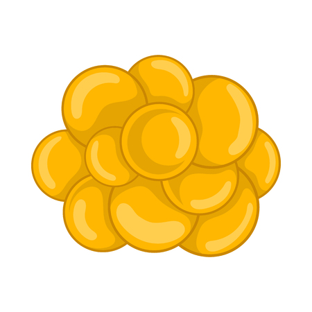 Group of viruses icon in cartoon style on a white background