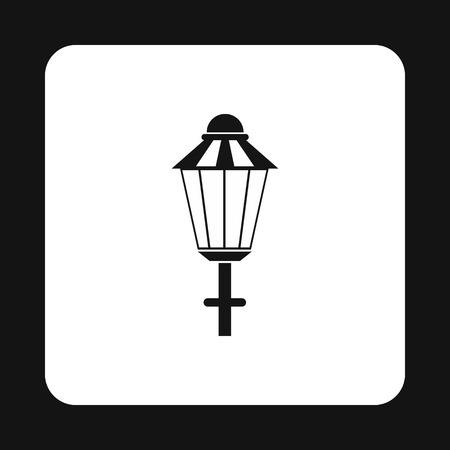 prostitution: Light icon in simple style on a white background