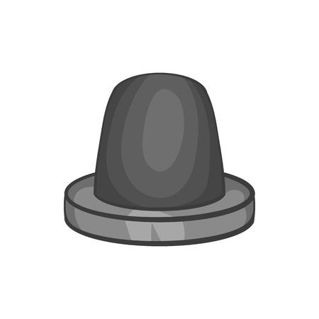 Siren icon in black monochrome style isolated on white background. Equipment symbol vector illustration Illustration