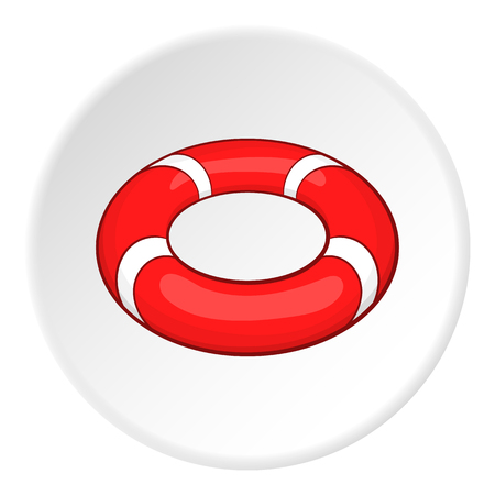 lifeline: Lifeline icon. Cartoon illustration of lifeline vector icon for web