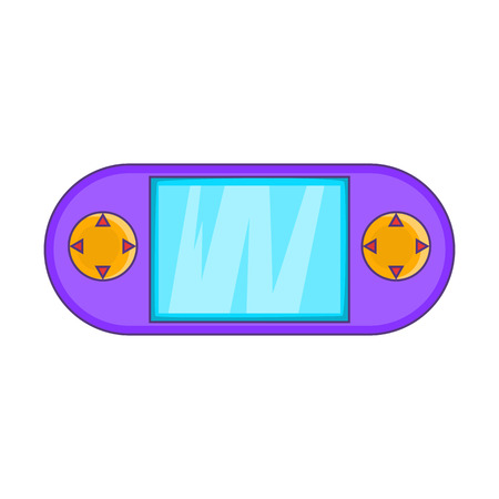 psp: Portable game console icon. Cartoon illustration of console vector icon for web design