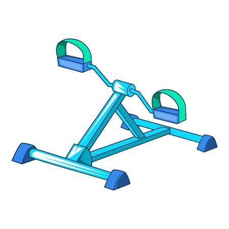 Gym equipment icon. Cartoon illustration of gym equipment vector icon for web. Illustration