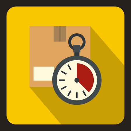 Deadline concept. Flat illustration of deadline vector concept for web.