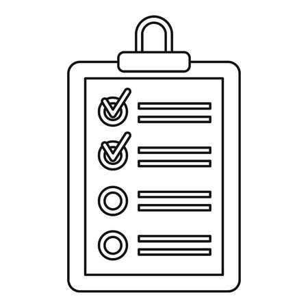 Plane tablet icon. Outline illustration of plane tablet vector icon for web. Ilustrace