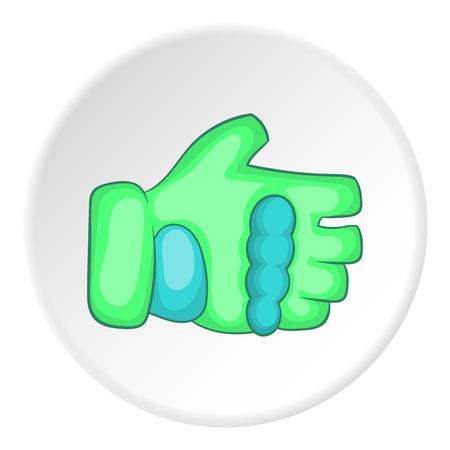 Glove icon. Cartoon illustration of glove vector icon for web Illustration