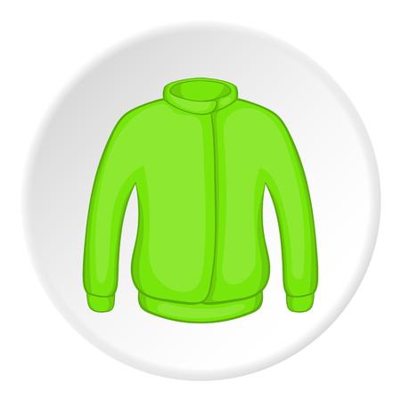 Jacket icon. Cartoon illustration of jacket vector icon for web Illustration