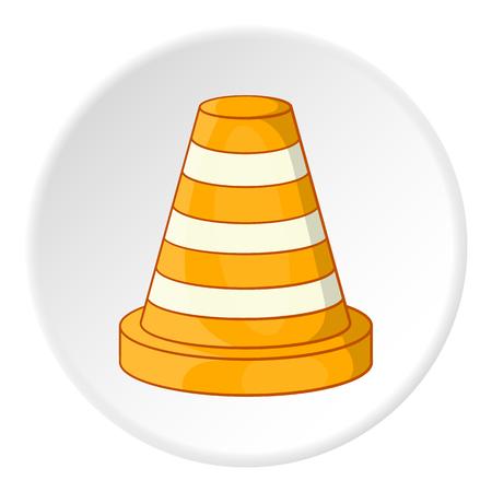 Road repair sign icon. Cartoon illustration of road repair sign vector icon for web Illustration