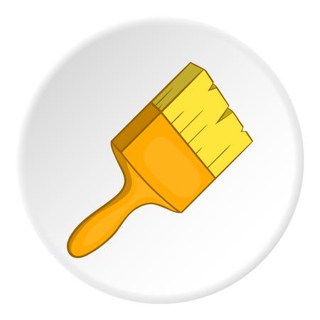 Paint brush icon. Cartoon illustration of paint brush vector icon for web