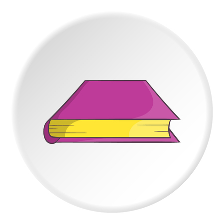Thick book icon. Cartoon illustration of thick book vector icon for web Illustration