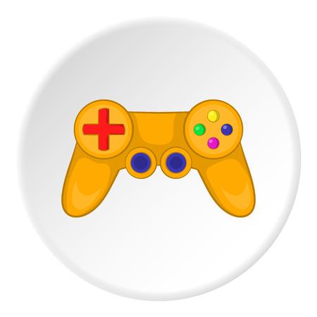 Joystick icon. Cartoon illustration of joystick vector icon for web
