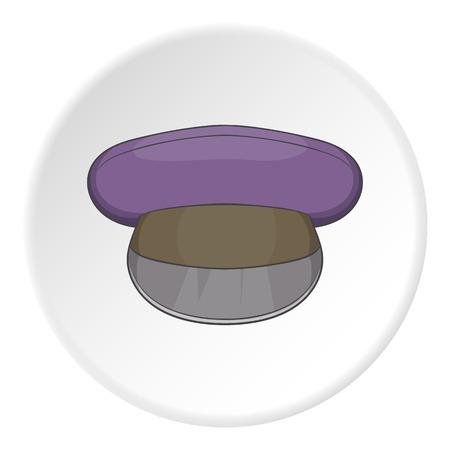 piloting: Cap icon. Cartoon illustration of cap vector icon for web Illustration