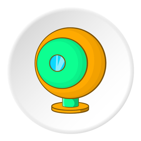 webcam: Webcam icon. Cartoon illustration of webcam vector icon for web