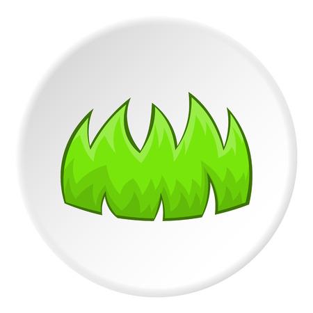 bushes: Bushes icon. Cartoon illustration of bushes vector icon for web