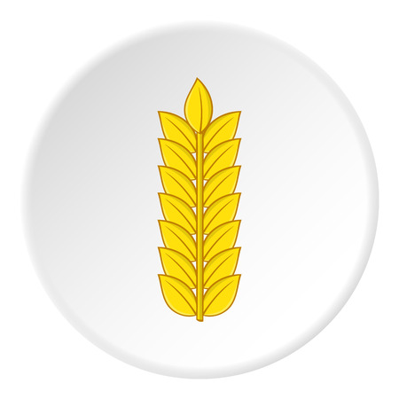 Wheat icon. Cartoon illustration of wheat vector icon for web