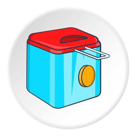 fryer: Fryer icon. Cartoon illustration of fryer vector icon for web Illustration