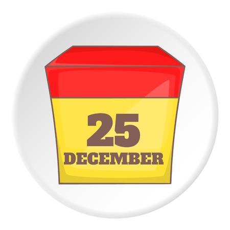 december 25: December 25 calendar icon.
