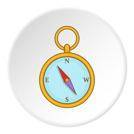 artoon: Compass icon. artoon illustration of compass vector icon for web