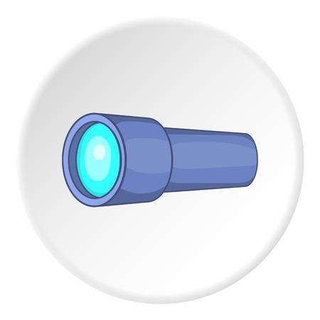 eyepiece: Monocular icon.   illustration of monocular vector icon for web Illustration